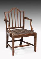 Set of Ten George III Period Mahogany Chairs (5 of 7)