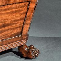 Regency Mahogany Wine Cooler Cellarette of Sarcophagus Form (8 of 10)