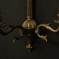 French Set Of 4 Empire Twin Arm Wall Lights (6 of 10)