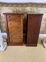 Pair of Mahogany Wellington Chests (5 of 7)