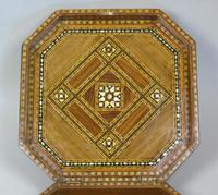 Antique Indian Inlaid Lidded Box (4 of 10)