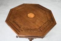 Edwardian Octagonal Centre Table (6 of 11)