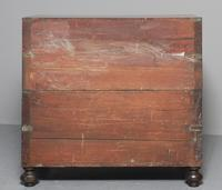 Victorian Teak Two Part Military Chest (13 of 13)