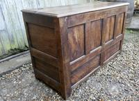18th Century Country Oak Coffer (2 of 9)
