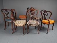 Set of 6 Mid Victorian Rosewood Dining Chairs (5 of 14)