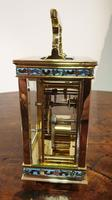 Attractive Small Brass French Carriage Clock (3 of 7)