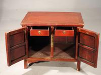 Late 19th Century Chinese Dwarf Cabinet (3 of 4)