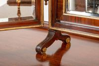 Quality Queen Anne Style Walnut Dressing Table & Mirror c.1920 (5 of 14)