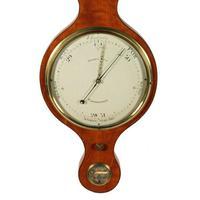 """Georgian Satinwood 10"""" Dial Barometer (3 of 8)"""
