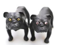 Ernest Light : A Scarce Wedgwood Black Basalt Bulldog C.1913+ (8 of 10)