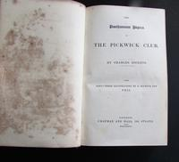 1837 1st Edition, The Pickwick Papers by Charles Dickens (3 of 5)