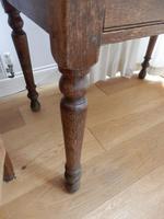 Solid oak school desk (7 of 7)