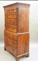 Rare George III Tallboy Chest of Drawers (2 of 15)