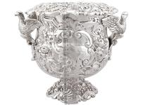 Antique George III Sterling Silver Wine Cooler (18 of 18)