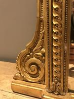 Wonderful 19c gilt and gesso mirror (10 of 11)