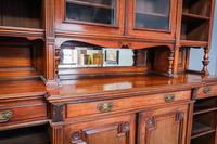 Gillow & Co Library Walnut Bookcase (15 of 15)