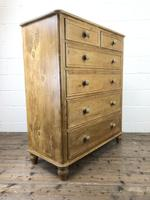 Large Vintage Pine Chest of Drawers (7 of 8)