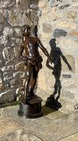 Large Bronze Statue