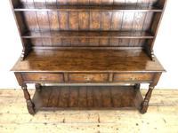 Antique Oak Pot Board Dresser (3 of 9)