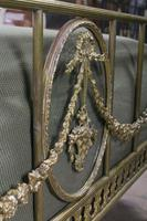 Very Pretty Individual French All Brass Double Bed (3 of 10)