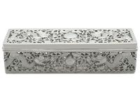 Chinese Export Silver Box - Antique c.1900 (2 of 9)