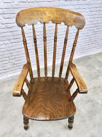 Large Victorian Windsor Spindleback Armchair (3 of 5)
