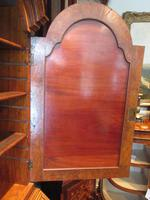 Small Antique Burr Walnut Bureau Bookcase (4 of 12)