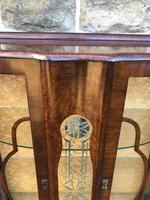 Antique Walnut China Display Cabinet (2 of 10)