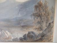 19th Century Watercolour of Mountainous Landscape 'unsigned' (3 of 7)