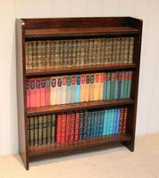 Solid Oak Graduated Bookshelves (4 of 10)