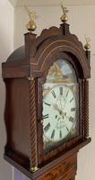 Mahogany Eight Day Victorial Longcase Clock (6 of 11)