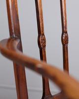 George III Elm Carver Chair (6 of 9)