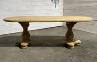 French Bleached Oak Monastery Dining Table (26 of 30)