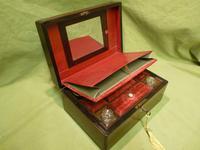 Inlaid Rosewood Jewellery – Vanity Box c.1860