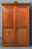 Gothic Style Victorian 2 Door Mahogany Wardrobe (2 of 5)
