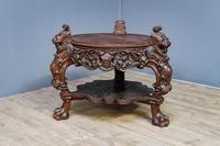 Carved Coffee Table 1880