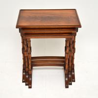 Antique Georgian Style Mahogany Nest of Tables (9 of 10)