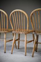 4 Beech & Elm Kitchen Chairs (12 of 12)