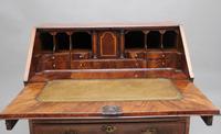 18th Century walnut & feather banded bureau (6 of 17)