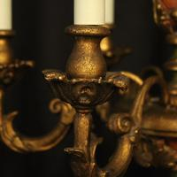 Florentine 6 Light Polychrome Chandelier (9 of 10)
