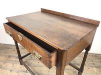 Antique 19th Century Oak Lowboy Side Table (3 of 11)