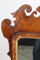 Large Antique George II Walnut Fretwork Mirror (6 of 13)
