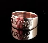 Antique Victorian Mizpah Ring, 9ct Rose Gold (8 of 11)