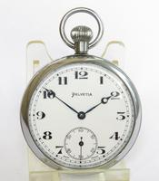 1930s Helvetia Pocket Watch in Super Condition (2 of 5)