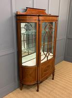 Inlaid Mahogany Display Cabinet by Jas Shoolbred (13 of 14)
