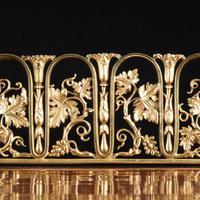 Regency pale mahogany pedestal sideboard (8 of 8)
