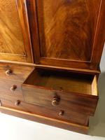 A Finely Figured, Early Victorian, Mahogany Press (4 of 4)