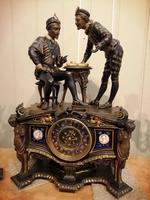 Superb Quality & Unusual French Clock Garniture (2 of 19)