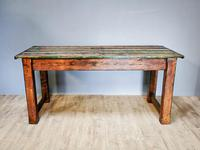 Original Paintwork Table Country Table (6 of 6)