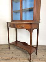 19th Century Glazed Mahogany Bookcase on Stand (7 of 10)